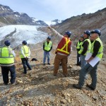 Describing the KSM Project facing the Mitchell Glacier
