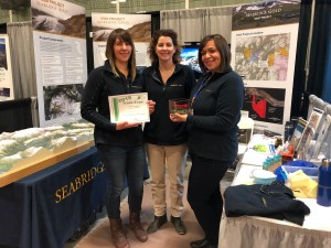 The KSM Project team receives recognition at the 2019 Terrace & District Chamber of Commerce Trade Expo