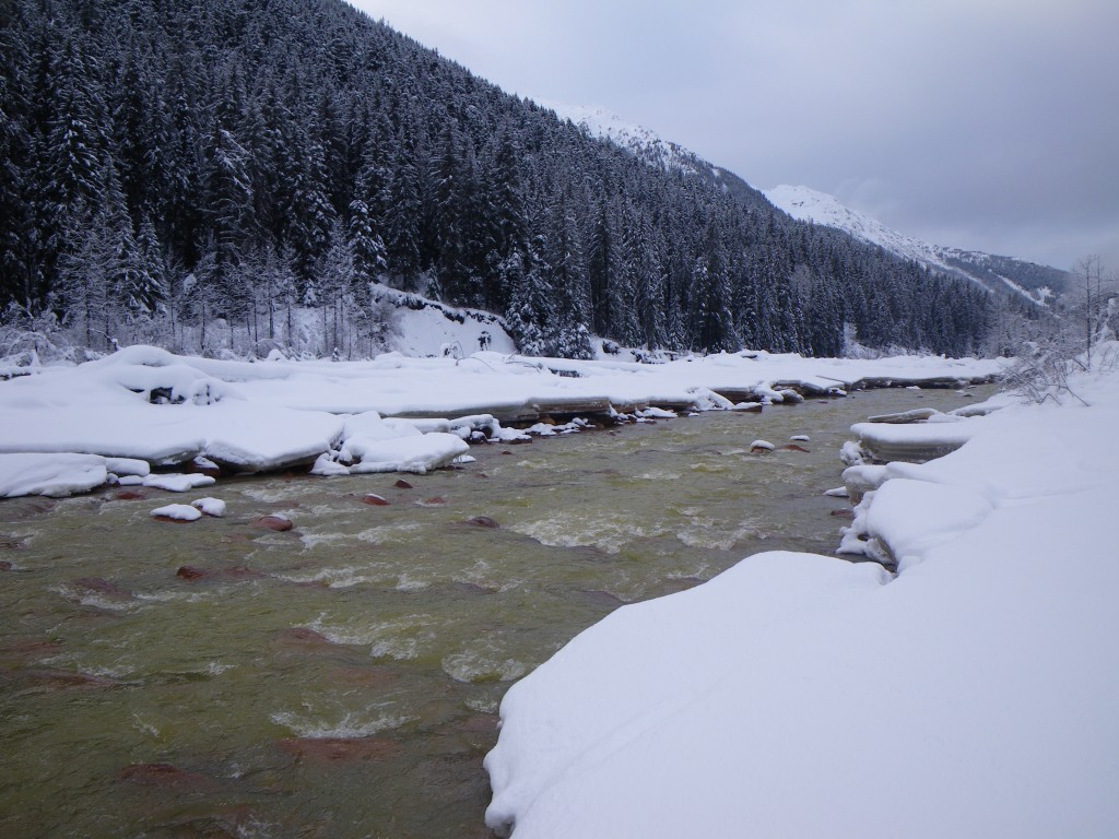 Confluence of Mitchell and Sulphurets Creek